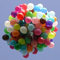 Оформление праздника воздушными шарами на улице